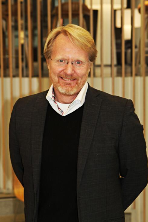 <strong><b>GODT MARKED:</strong></b> Anders G. Hovde forteller at det ofte er de som vil fremstå som intelligente og reflekterte som som kjøper elbil.  Foto: Magnus G. Arnkværn