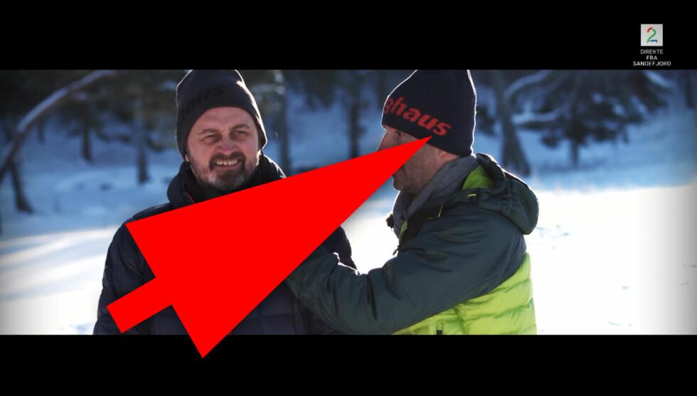 SENKVELD PÅ TURNE: Thomas og Harald bruker blant annet klær fra Berghaus. Dette er produktplassering. Foto: TV 2 / OLE PETTER BAUGERØD STOKKE