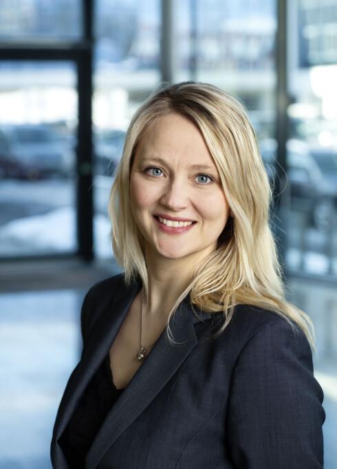 UFORSTÅENDE: Anita Svanes fra VW-importøren stiller seg uforstående til at deres merke skal være en versting.  Foto: VW