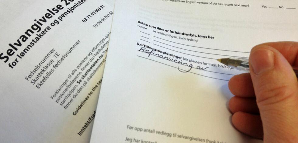 image: Du kan få fradrag på skatten om du har tatt opp lån, byttet bank eller refinansiert