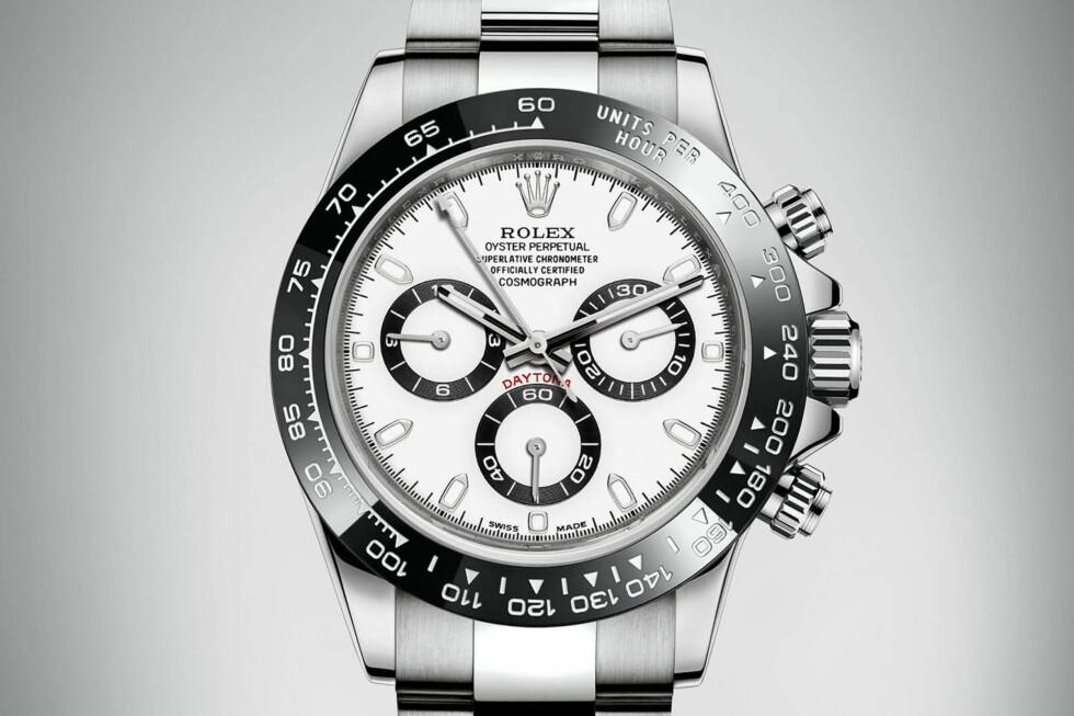 NY VERSJON: Rolex har pusset opp sin ikoniske Daytona-modell. Foto: ROLEX