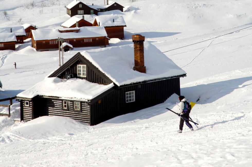 HELÅRSBRUK: Hytte på fjellet er populært, og kan fint brukes hele året, slik som her, på Ustaoset, midt mellom Oslo og Bergen. Foto: ALL OVER PRESS