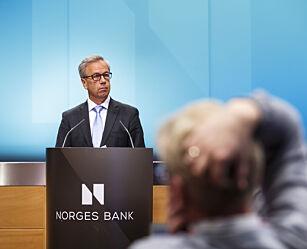 image: Norges Bank setter ned renta til 0,5 prosent