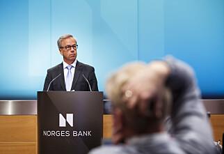 Norges Bank setter ned renta til 0,5 prosent