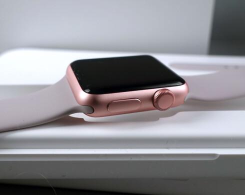 LEKKER: Gjennom mange år har Apple vist at de mestrer design, og Apple Watch er intet unntak.  Foto: KIRSTI ØSTVANG