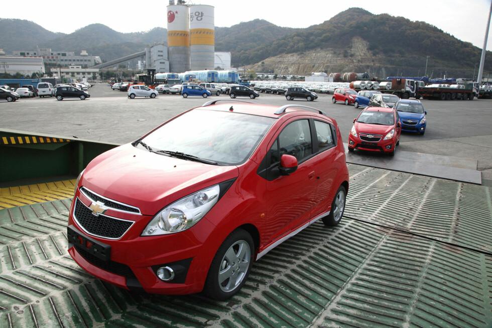 Chevrolet Matiz 6-7 år gammel (2010): Den er bitte liten, og har sjeldent gått særlig langt. TÜV opplyser om at den er; liten, billig og dårlig.  Foto: AFP