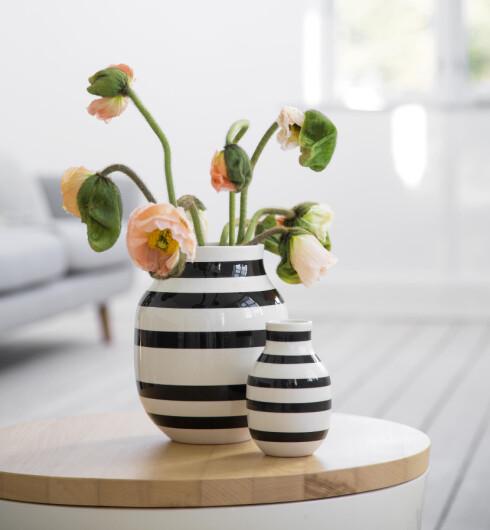 RELATIVT BILLIGE: De fleste vasene i Omaggio-serien koster mellom 200 og 650 kroner.  Foto: KÄHLER