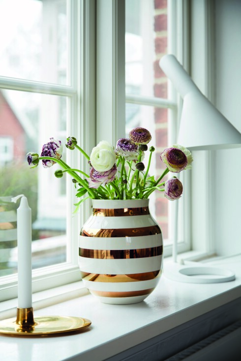 GIKK BANANAS FOR DENNE: Da Kähler lanserte Omaggio-vasene i en gullfarget-versjon, ble det begrensede opplaget raskt utsolgt. Folk solgte de videre på nettet til flere tusen kroner. Foto: KÄHLER