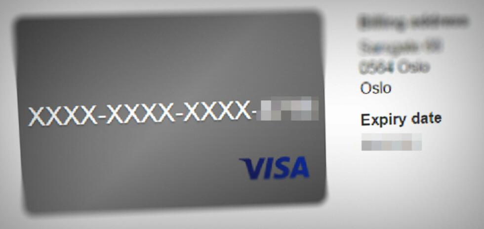KORT PROSESS: Endrer du kortinformasjonen i Paypal, slipper du å gjøre det hos alle abonnementstjenestene dine hver for seg.  Foto: OLE PETTER BAUGERØD STOKKE