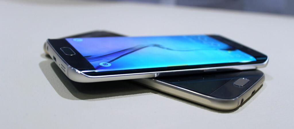 <strong>ENDELIG:</strong> Mange Samsung-eiere har ventet utålmodig, men i dag ser det ut til at Samsung endelig oppgraderer S6-telefonene med siste Android-versjon. Foto: KIRSTI ØSTVANG