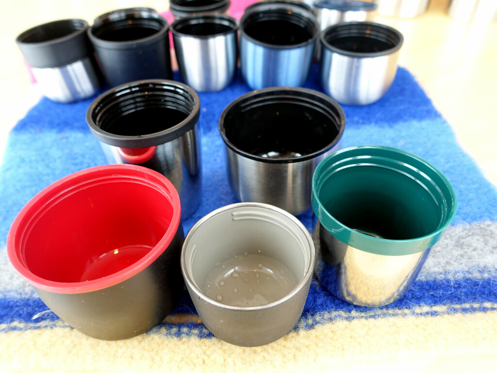 SJEKK STØRRELSESFORSKJELLEN En kopp er ikke bare en kopp! Foto: KRISTIN SØRDAL