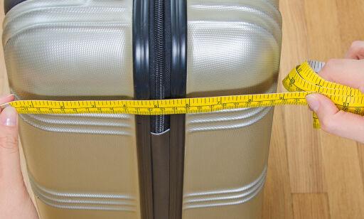 image: Kan du målene for håndbagasje på fly?