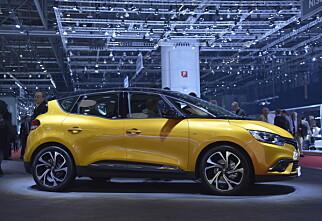 Renault Scenic i helt ny drakt