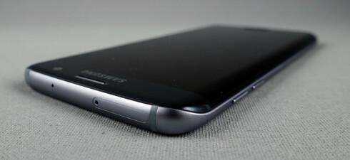 TILBAKE: Samsung droppet det i S6-serien, men nå er støtte for minnekort tilbake i S7-modellene. Foto: PÅL JOAKIM OLSEN