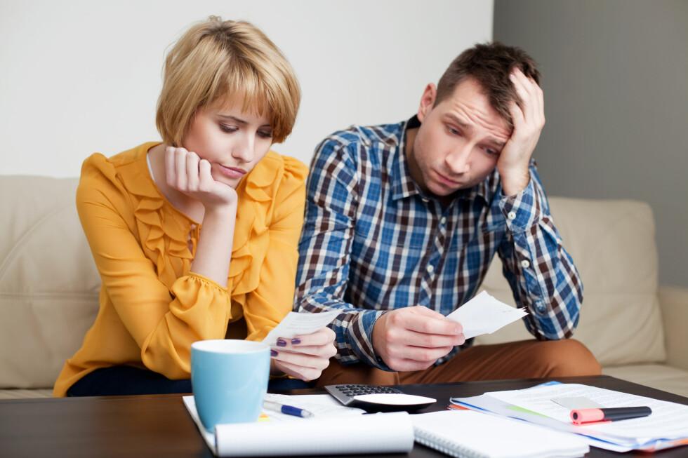 UKJENT REGNING: Mange nordmenn opplever regninger de ikke forstår hvorfor de får, eller som er større enn de trodde. Er det selskapets skyld, skal du ikke trenge å betale.  Foto: MICROSTOCK / NTB SCANPIX