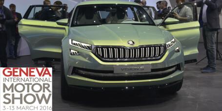 Skodas SUV med sju seter blir ladbar hybrid