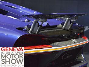 image: Bugatti Chiron er offisiell