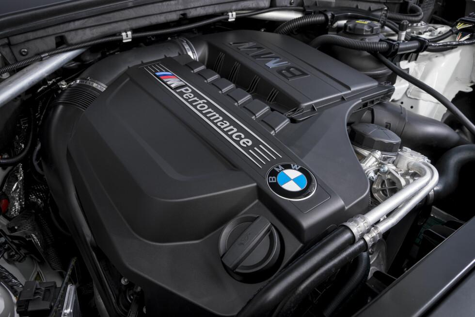 KRAFTPAKKEN: Motoren er hentet fra M2, men toppeffekten er noe lavere og hentes ut tidligere. Foto: BMW