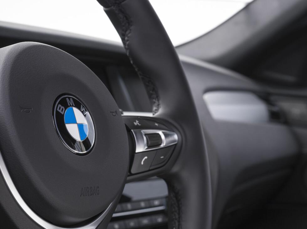 M: Små detaljer skal få deg i Motorsport-humør. Foto: BMW
