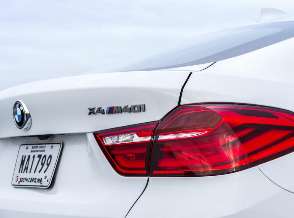 VANSKELIG LIGNING: Mens vi venter på en X4M får vi nøye oss med denne bokstavkombinasjonen.  Foto: BMW