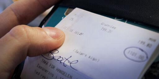 image: Mista tilgodelapp eller kvittering? Fortvil ikke!
