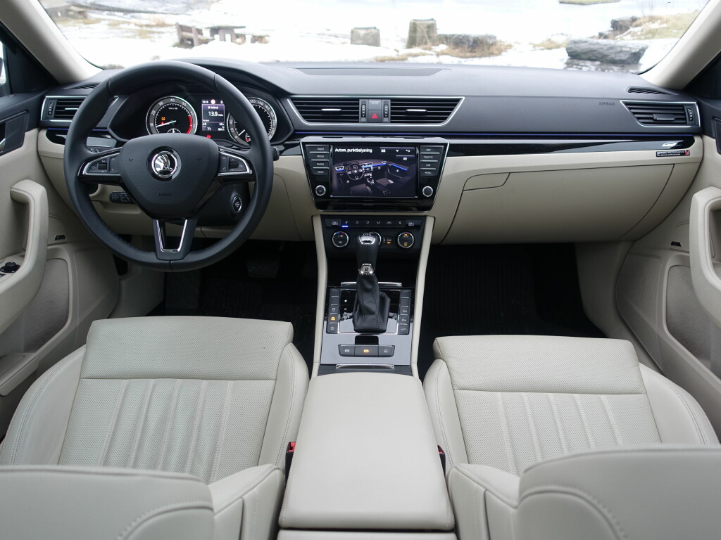 STRAMT: Ingen tvil om at dette stammer fra Volkswagen-konsernet. Likheten med Volkswagen og Audi er meget stor.