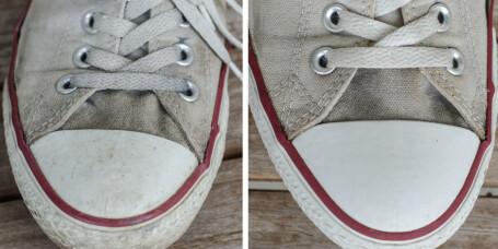 Hvordan vaske Converse-skoene?