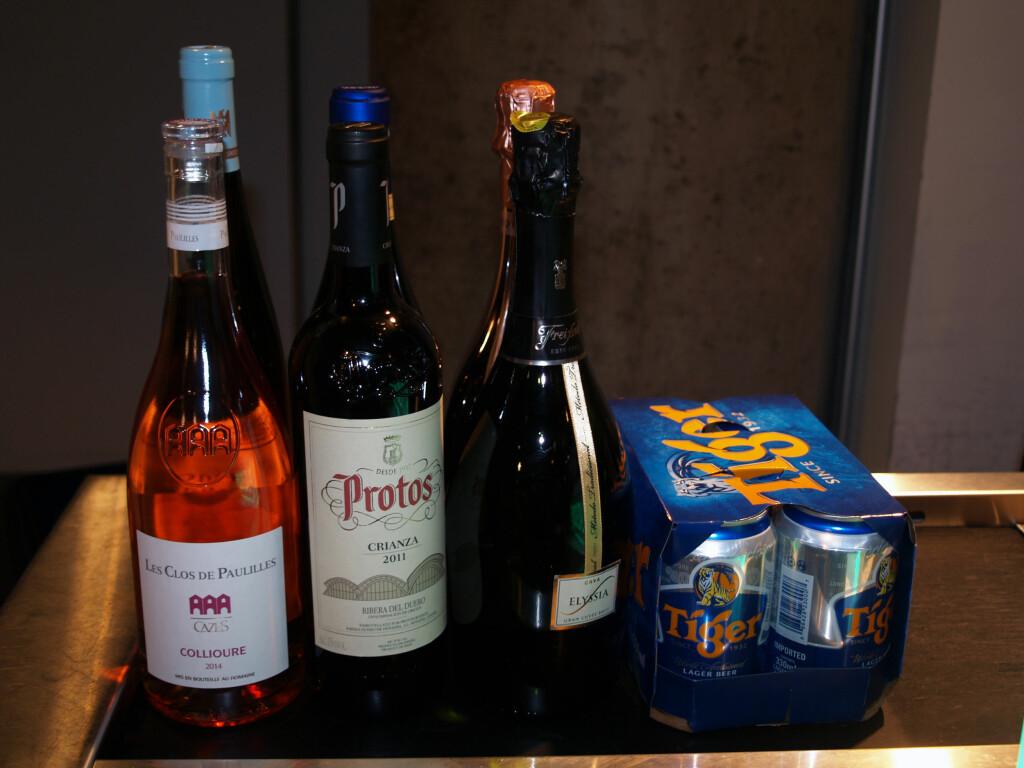 MEST MULIG VIN PÅ KVOTA: Makskvota på vin er 4,5 liter, men da må du droppe brennevin og tobakk. Foto: BERIT B. NJARGA