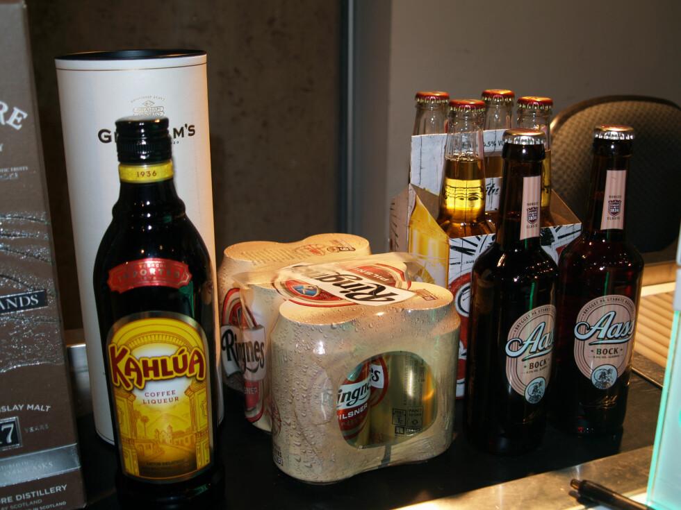"""BYTTE DL MOT DL: """"For lite"""" sprit? Bytt det inn med vin og øl. Foto: BERIT B. NJARGA"""