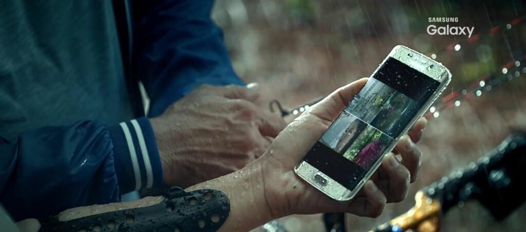 <strong>OOPS:</strong> Samsung Indonesia har allerede avslørt at nye Samsung Galaxy S7 blir vanntett. Foto: SAMSUNG