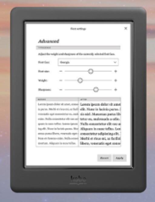 KONKURRENTEN: Kobo har i likhet med Amazon egen bokhandel, og regnes av mange som like bra som Kindle. Foto: KOBO