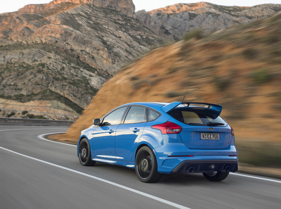 EN AV 12: RS er en av 12 nye sportsbiler Ford skal lansere fram mot 2020. Foto: FORD