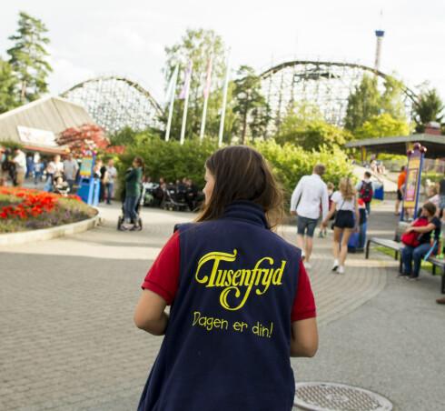 POPULÆRT: Tusenfryd har mottatt nesten 2000 søknader fra ungdom som ønsker å jobbe i fornøyelsesparken i sommer. Foto: NTB SCANPIX