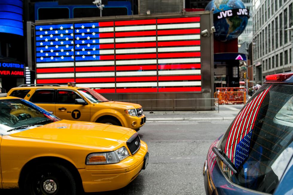 PRISØKNING: New York og USA har de siste årene blitt betydelig dyrere å reise til for nordmenn. Foto: NTB SCANPIX