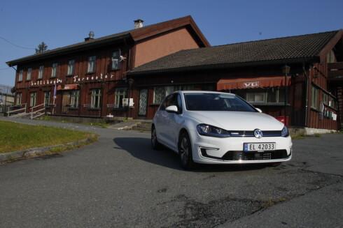 NORGESFAVORITT: VW E-Golf er for tiden den absolutte favoritten blant nordmenn.  Foto: RUNE M. NESHEIM