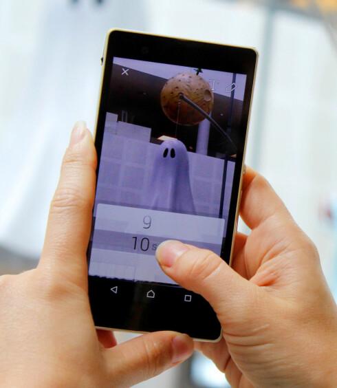 SELVDESTRUERENDE: Snapchat skiller seg fra andre meldingstjenester ved at meldingene forsvinner innen maks ti sekunder. Foto: OLE PETTER BAUGERØD STOKKE