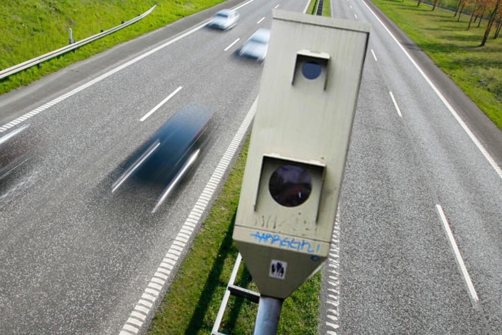 VARSLER DEG: Med TomToms fotoboksapp blir du varslet om kommende fotobokser mens du kjører bil. Foto: BERIT B. NJARGA