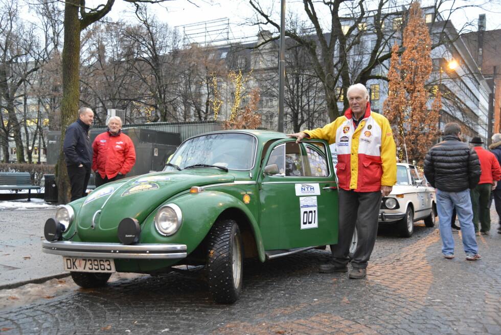 VETERAN: Kjell Gudim (83) har vært med på nærmere 1.500 billøp.  Foto: JAMIESON POTHECARY