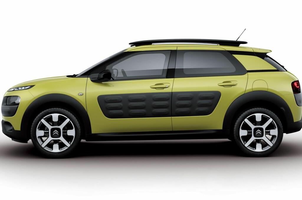 <b>VERDENSNYHETER:</b> Citroen C4 Cactus kommer med en rekke innovative nyheter.