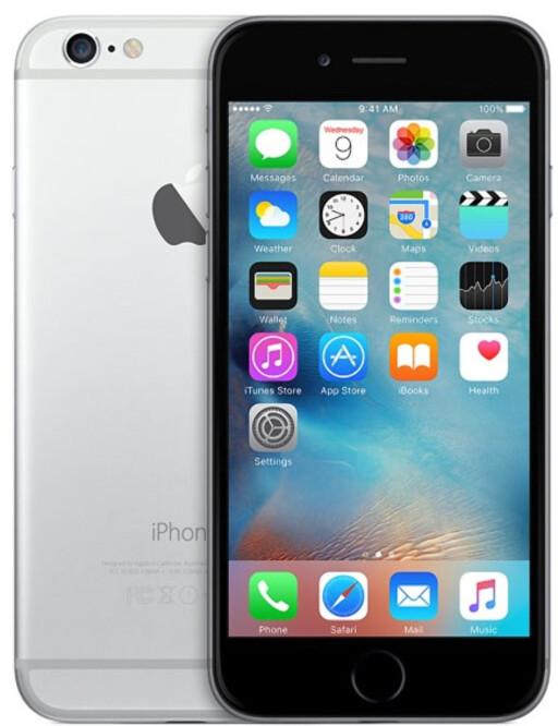 FLEST SAKER: Apples iPhone-modeller er ofte involvert i FTU-sakene, men trenger ikke si noe om kvaliteten på dem. Foto: APPLE