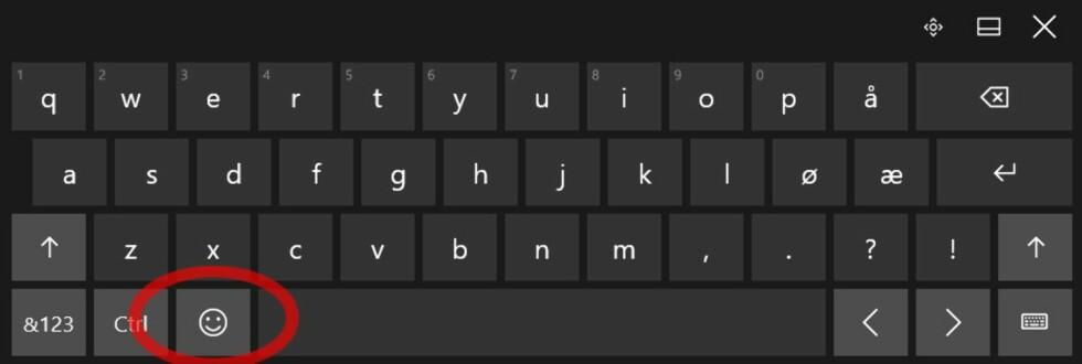 Slik får du emojis i Windows 10