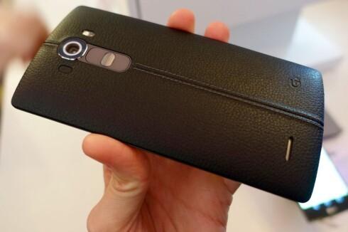 GODE BILDER: For mange vil kameraet være det viktigste på mobilen.  Foto: KIRSTI ØSTVANG