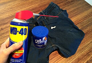 Hvordan fjerne tyggegummi fra klærne
