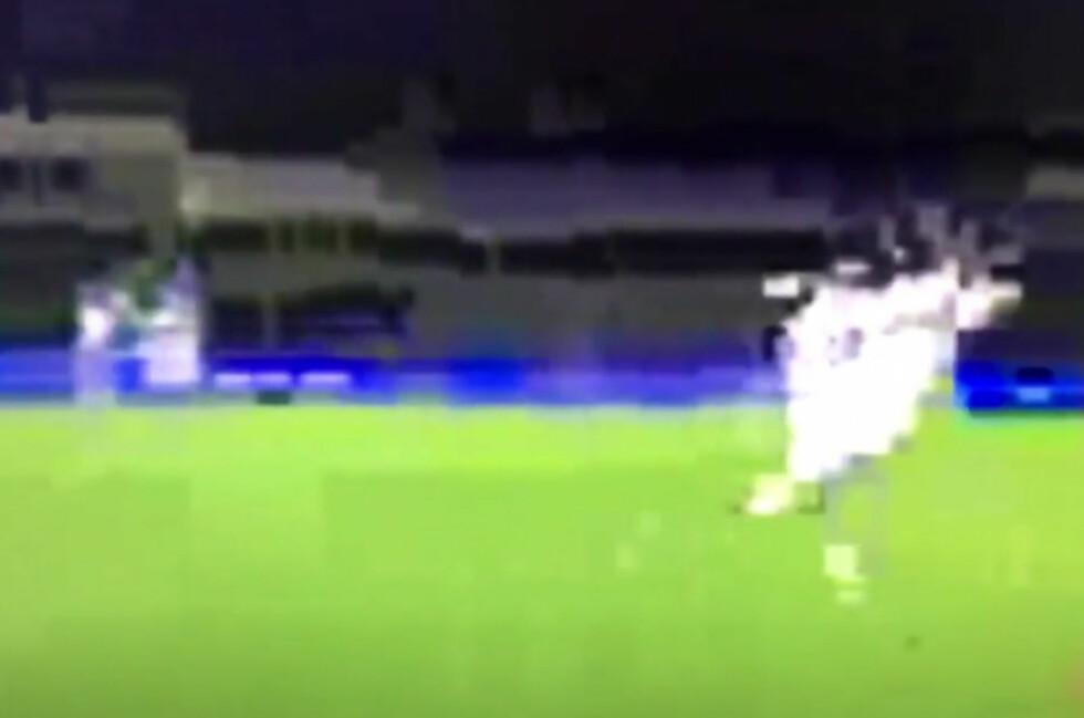 FOTBALL, IKKE MINECRAFT: Flere av TV 2 Sumos abonnenter får opp slike bilder når de prøver å strømme engelsk fotball.  Foto: FRODE JØRUM
