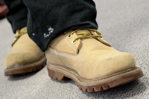 GODT SKODD: Støvler i Gore Tex eller annet syntetisk materiale er bra for vintersykling. Gjerne supplert av ullsokker på de kaldeste dagene. Foto: OLE PETTER BAUGERØD STOKKE