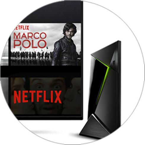 I 4K: Har du 4K-TV, men uten støtte for Netflix i 4K, kan Nvidia Shield TV være redningen.