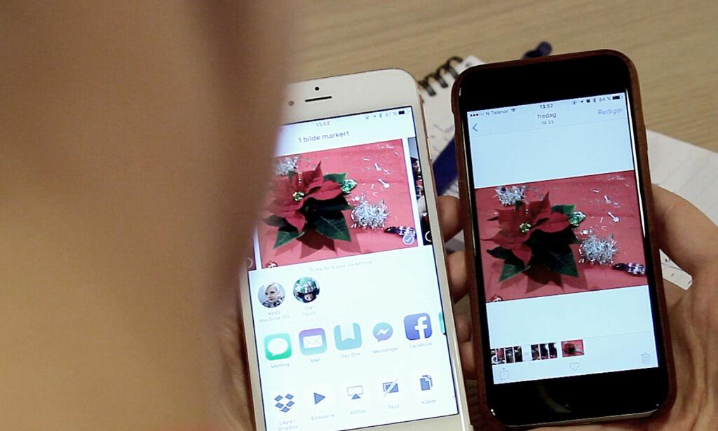 image: Hvordan dele filer mellom iPhone, iPad og Mac