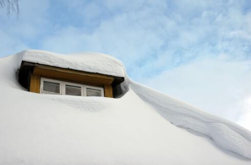 SETT DEG I BILEN: : Om hytta di ser sånn ut, bør du snarest komme deg dit. Foto: SHUTTERSTOCK/ BBBB/SCANPIX/NTB
