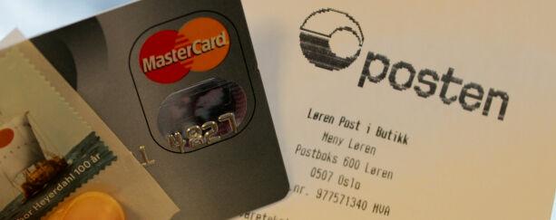 image: Skyhøyt gebyr om du bruker kredittkort på Posten