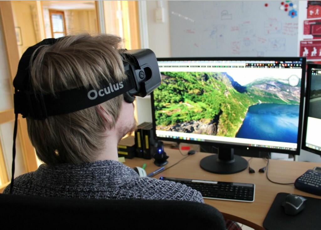 Mange spår at 2016 blir året da VR virkelig slår gjennom.  Foto: BJØRN EIRIK LOFTÅS
